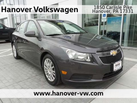 Pre-Owned 2011 Chevrolet Cruze ECO w/1XF