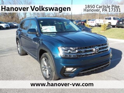 New 2019 Volkswagen Atlas 3.6L V6 SE w/Technology R-Line