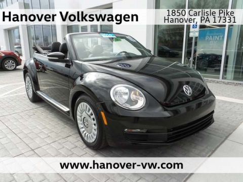 Certified Pre-Owned 2016 Volkswagen Beetle Convertible 1.8T S